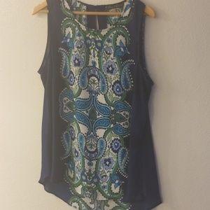 Rose & Olive 1x sleeveless blouse